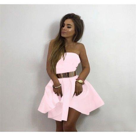 Rozkloszowana sukienka z pianki