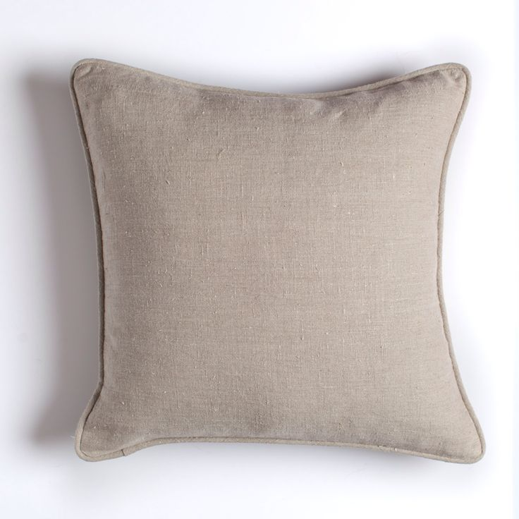 Natural linen pillow with piping  / natural stonewashed linen pillow with piping trim / classical decorative linen pillow / linen cushion by LUMODECO on Etsy https://www.etsy.com/listing/504082605/natural-linen-pillow-with-piping-natural
