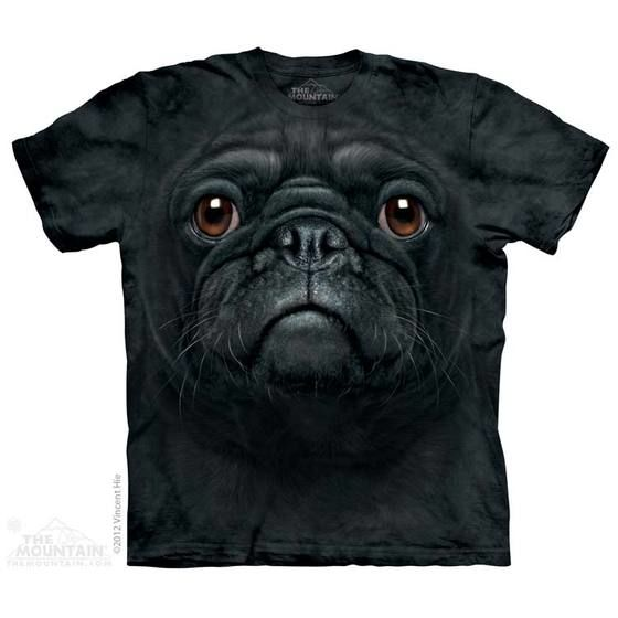 Polera The Mountain Pug Negro