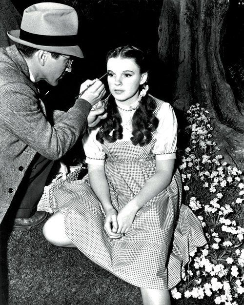 Judy Garland during the filming of The Wizard of Oz, 1939