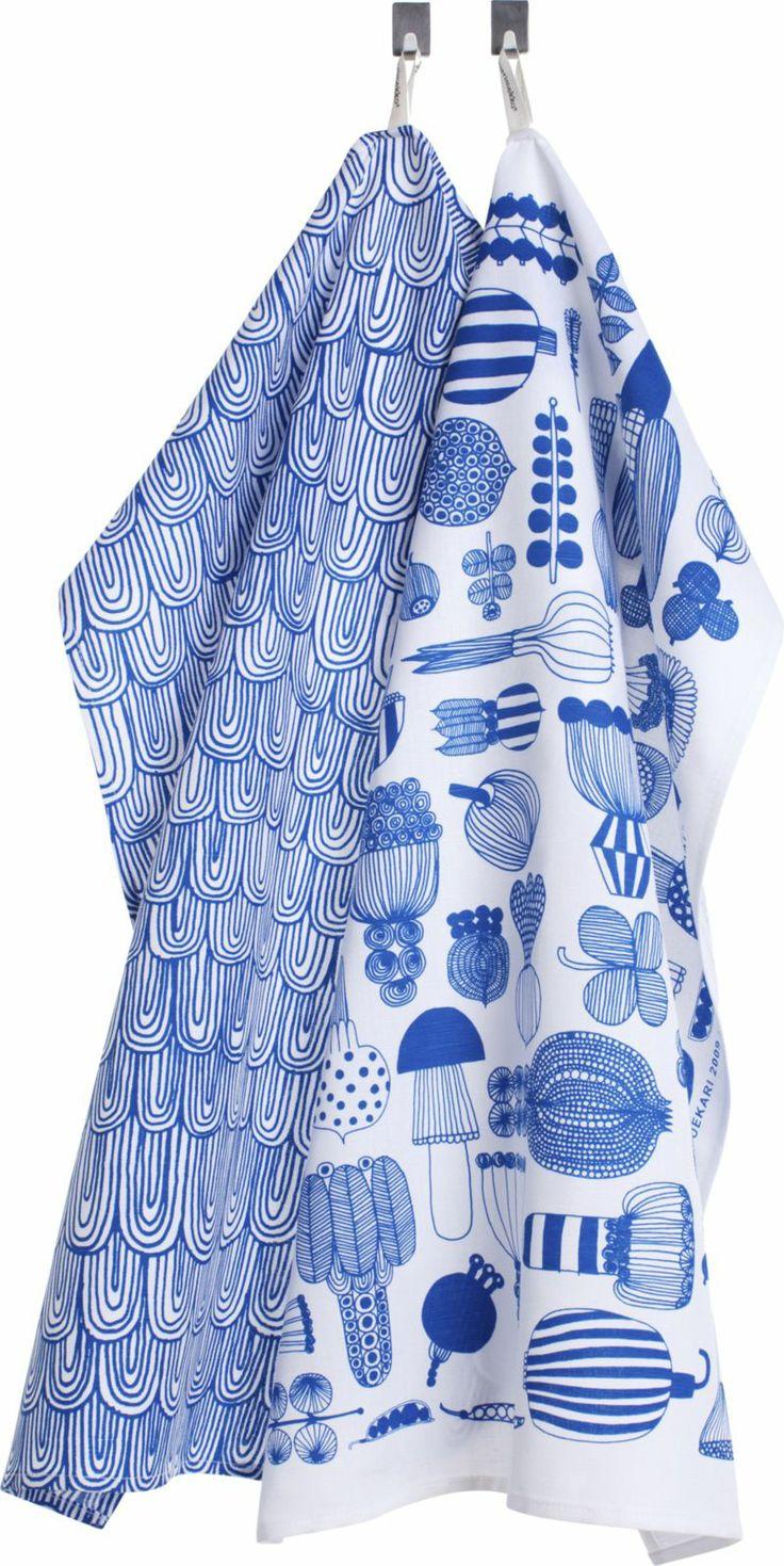 Blue and white kitchen towels - Regatta Dining Chair With Sunbrella Cushion Dish Towelsmarimekkokitchen