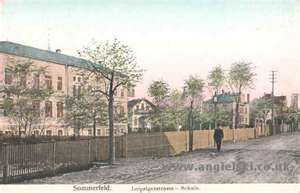 Sommerfeld, Brandenburg, Germany which is now Lubsko, Lubuskie, Poland....my great-grandfather came from Sommerfeld. Interesting to need to travel to Poland to see an old part of Germany. Got to love history.