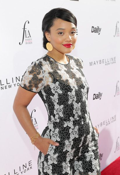 Actor Kiersey Clemons attends the Daily Front Row's 3rd Annual Fashion Los Angeles Awards at Sunset Tower Hotel on April 2, 2017 in West Hollywood, California.