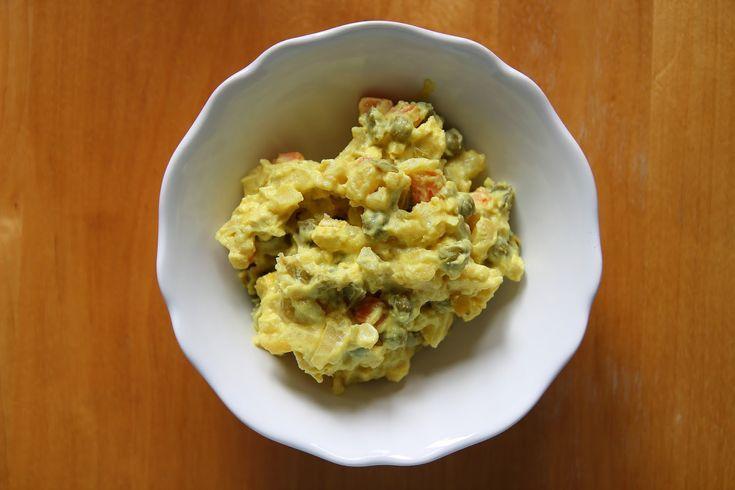 Bramborový salát - traditional czech potato salad