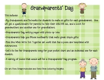 Requirements of essay grandparents in english