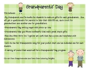 Essay on grandparents