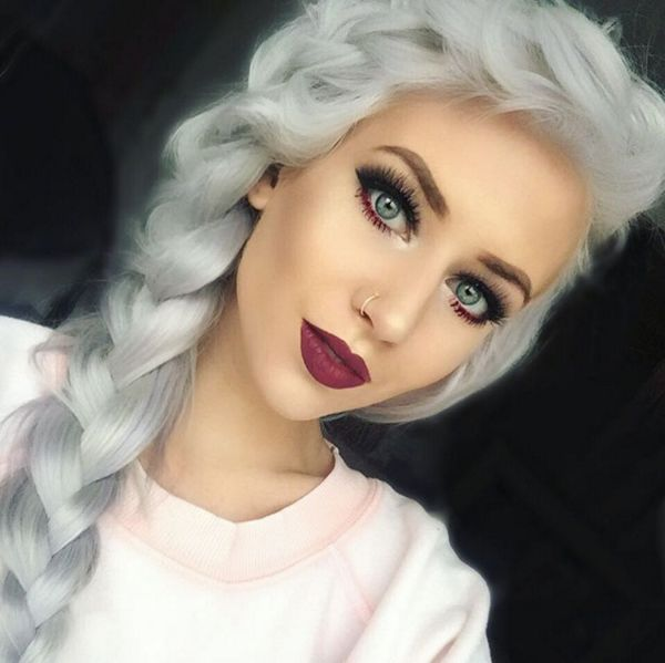 17 Best Ideas About Silver White Hair On Pinterest  Dyed White Hair Gray Ha