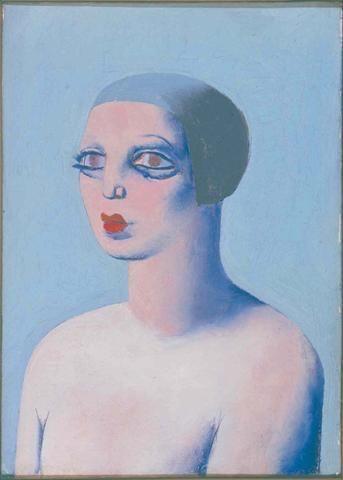 Le Corbusier (Fr. 1887-1965)Portrait de Yvonne Le CorbusierOil on canvas (46 cm x 33 cm)Not signed, not datedYvonne Gallis, a dressmaker and fashion model. She died in 1957