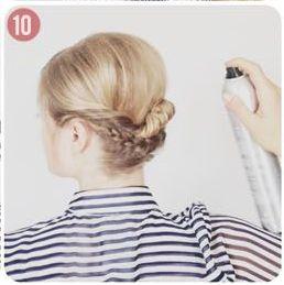 Peinado de fiesta para pelo corto #HairStyle by FashionFemmeAR