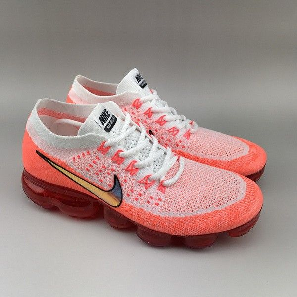 f27823f061e7 NikeLab Air VaporMax Flyknit Pure Platinum Red White