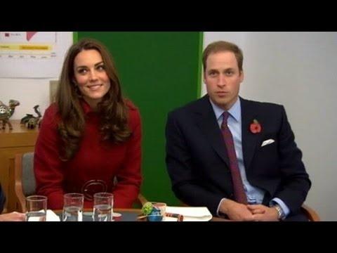 Príncipe Guillermo y su esposa esperan un hijo #Video | Cachicha.com