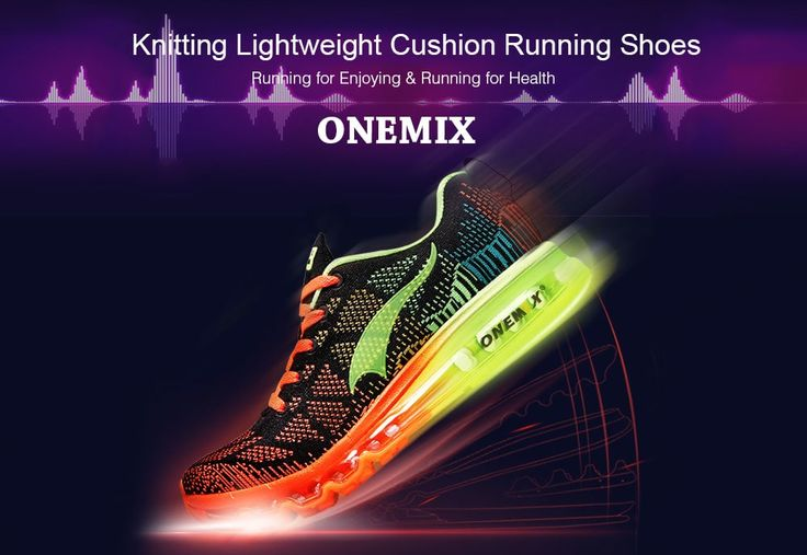 ZAPATOS Y MÁS: Onemix Knitting Lightweight Cushion Running Shoes ...
