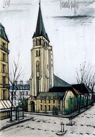17 best images about bernard buffet on pinterest pastel for Bernard peintre