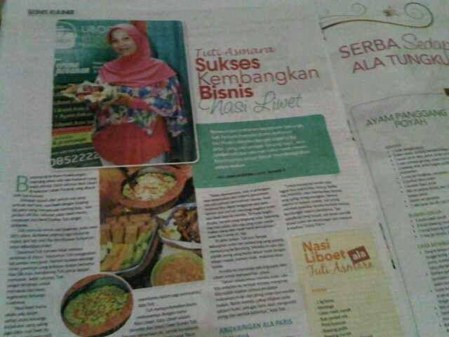 NasiLiboet di Tabloid Wanita Indonesia
