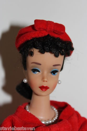 Vintage Barbie Ponytail 4 in Red Flare | eBay