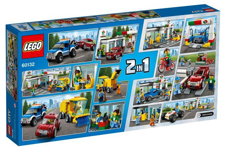 LEGO City 60132 Станция технического обслуживания
