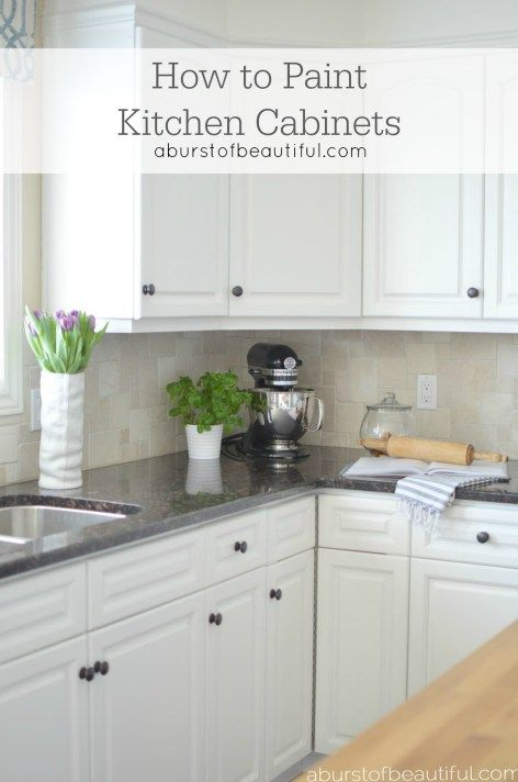 How to paint kitchen cabinets beautiful how to paint for Best primer for painting kitchen cabinets