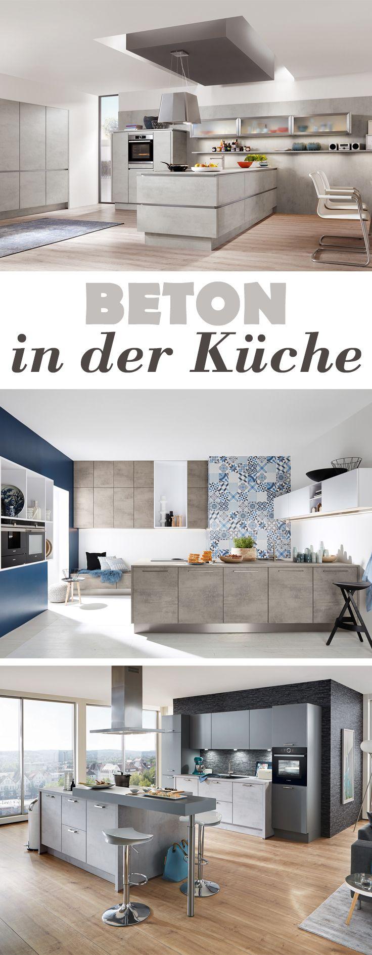 29 best Betonküche - Küchen aus Beton images on Pinterest | Kitchen ...