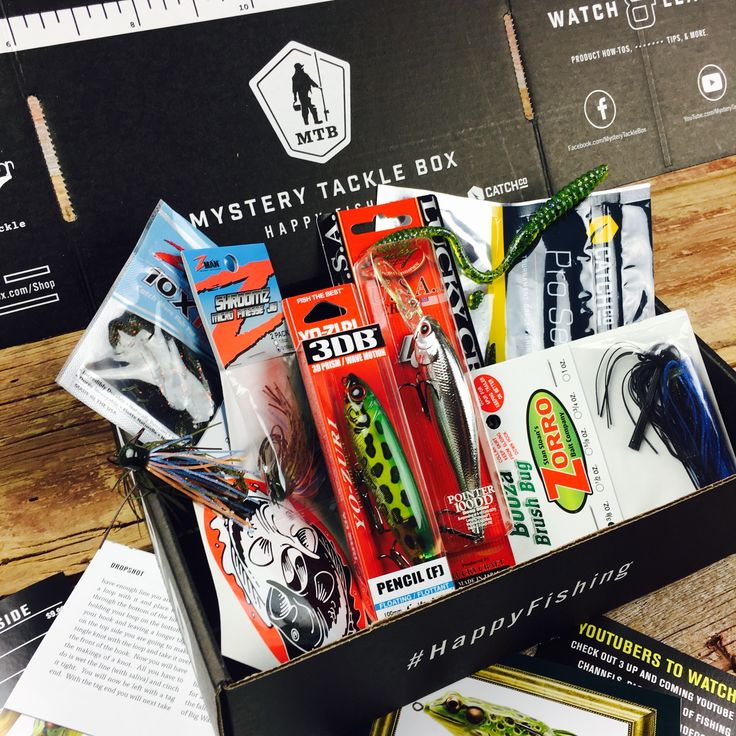 The Mystery Tackle Box is a great fishing gift, packed full of fishing gear every angler would love every month!