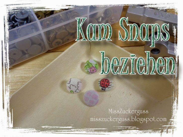 [Anleitung] runde Kam Snaps (Druckknöpfe) mit Stoff beziehen / + Wie rettet man falsch angebrachte Kam Snaps