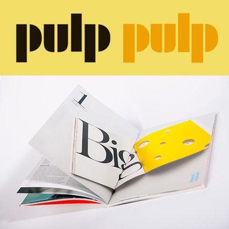 Fedrigoni heeft een bijzondere, mooie, zeer uitgebreide papiercollectie. PULP magazine: 'Het tijdschrift verschijnt drie keer per jaar en richt zich tot mensen die een professionele passie voor papier en vormgeving hebben.' Het magazine wordt steeds op verschillende papiersoorten uit de collectie gedrukt. Leuk!