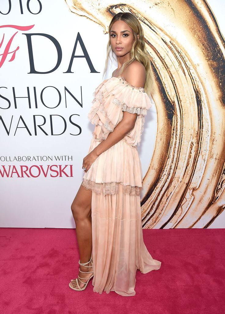 See All the 2016 CFDA Awards Red-Carpet Looks -- Ciara