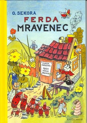 Cover of children book Ferda Mravenec