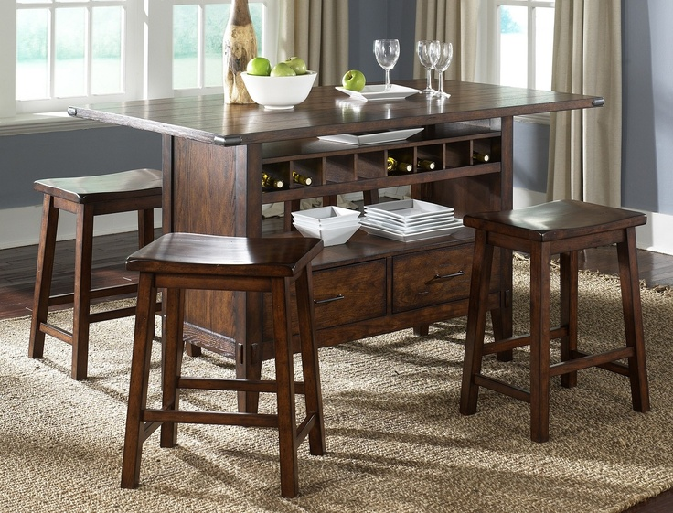 counter height kitchen island dining table 133 best images about entertaining room on 26553