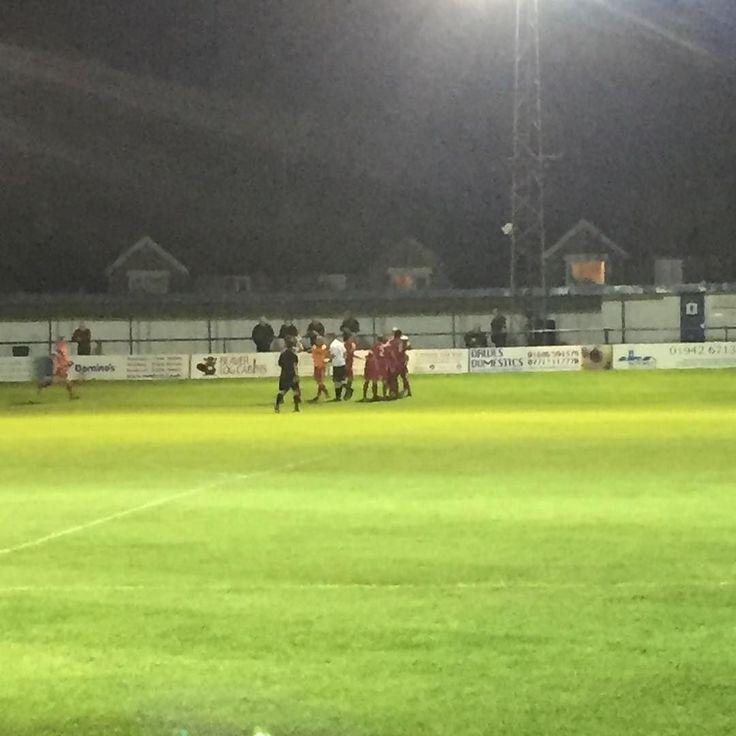 3-1 to AFC! Freddy potters only gone and lobbed the keeper from 30 yards out!