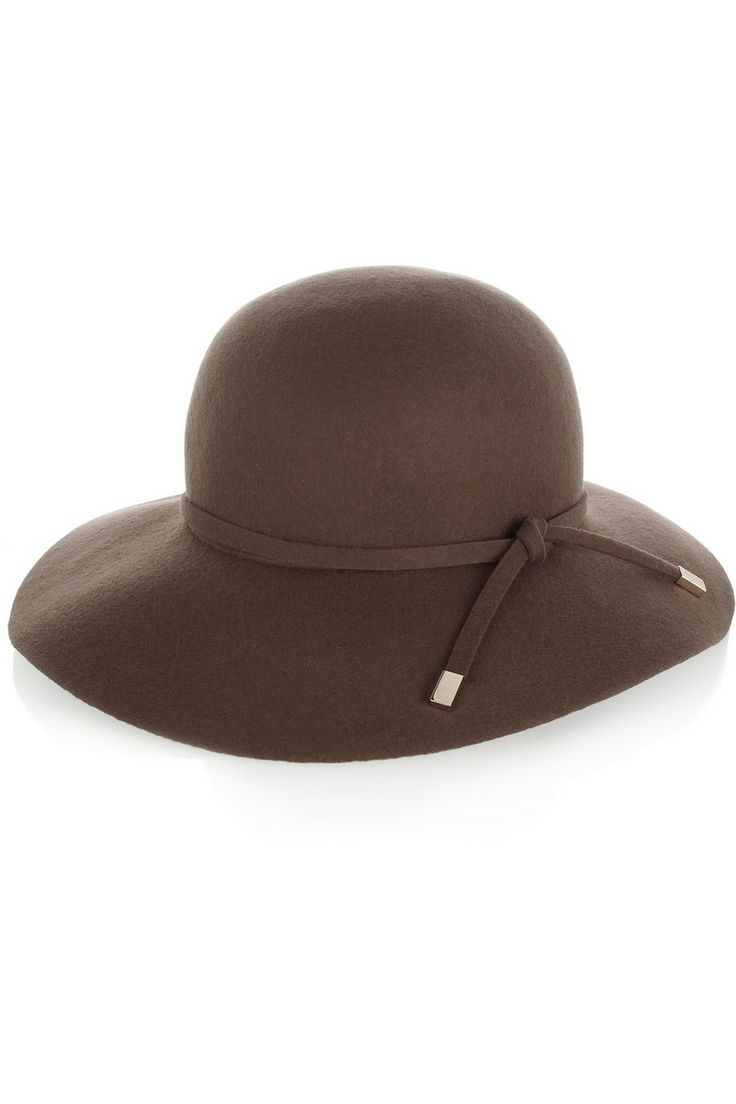Gucci|Breitkrempiger Hut aus gefilzter Wolle|NET-A-PORTER.COM
