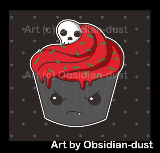 evil cupcake | evil kawaii | Pinterest
