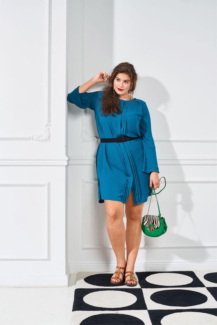 Платье рубашечного кроя