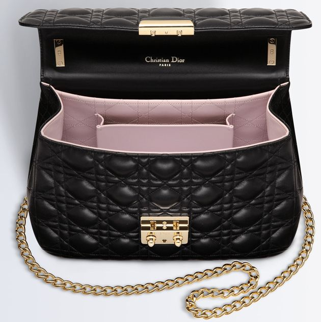 Some people say that the Miss Dior Bag is the only bag that can match to the fame of the Chanel Classic Flap Bag. And taking account of the incredible detailed craftsmanship (I mean, notice the sti…