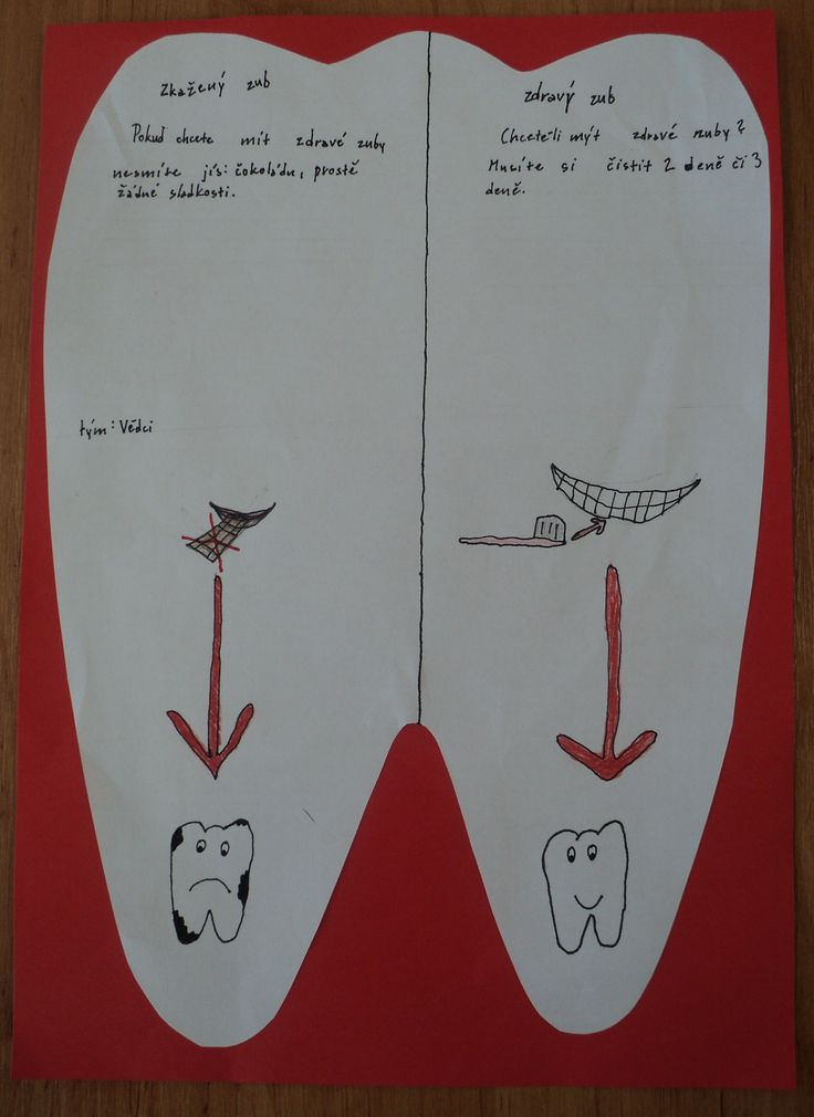Zdravý a nemocný zub