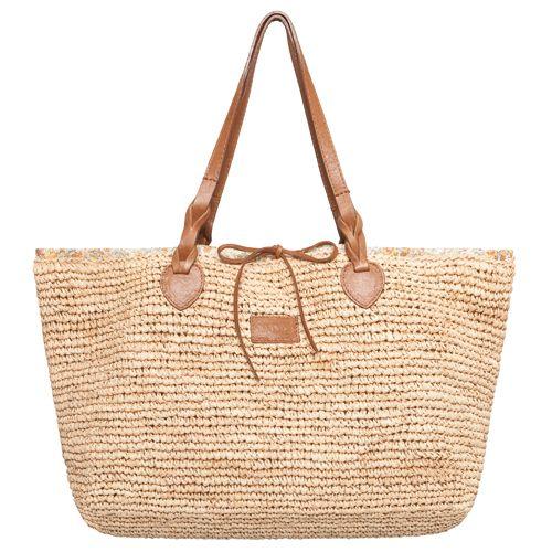Borse Di Paglia Decorate Alluncinetto : Best images about borse paglia on bags