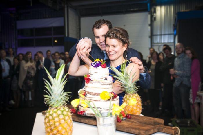 Onze Paleo bruiloft! - inclusief bruidstaart