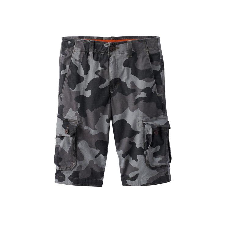 Boys 8-20 Urban Pipeline® MaxFlex Cargo Shorts, Boy's, Size: 18, Dark Grey