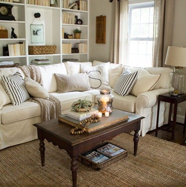 49 Best Cottage Living Room Images On Pinterest Armchair