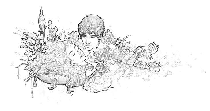 sleeping beauty drawing - Google-søk