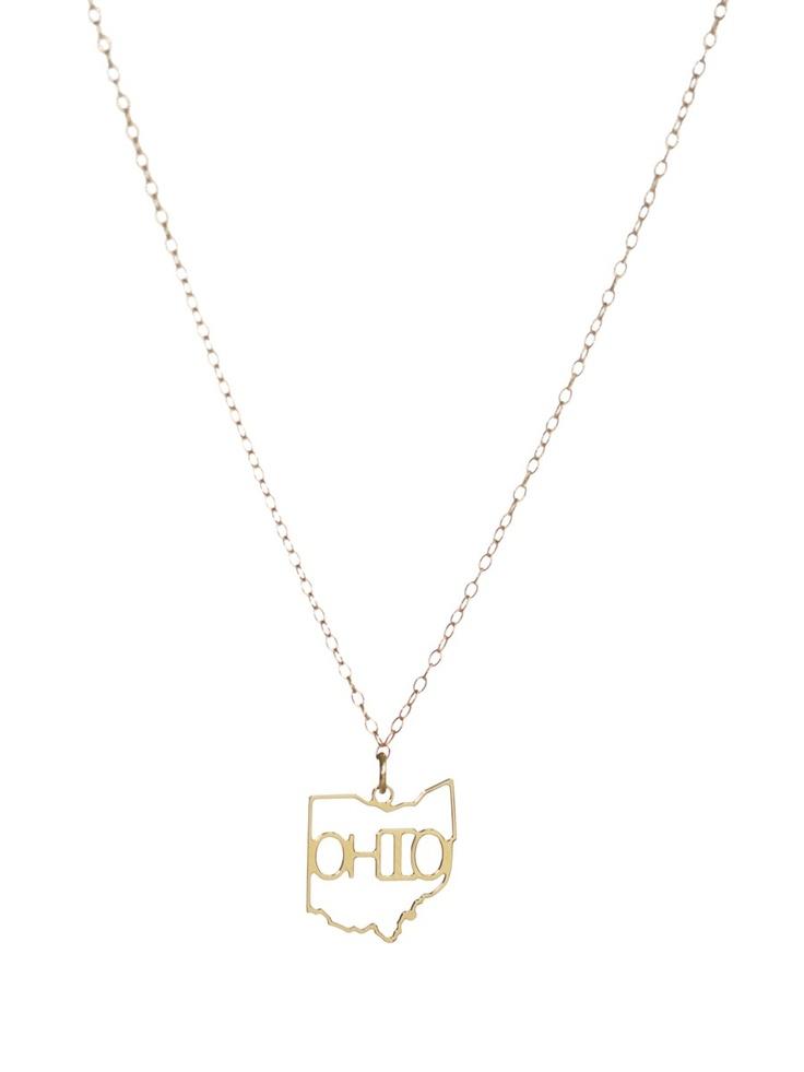 Ohio State Pride Necklace