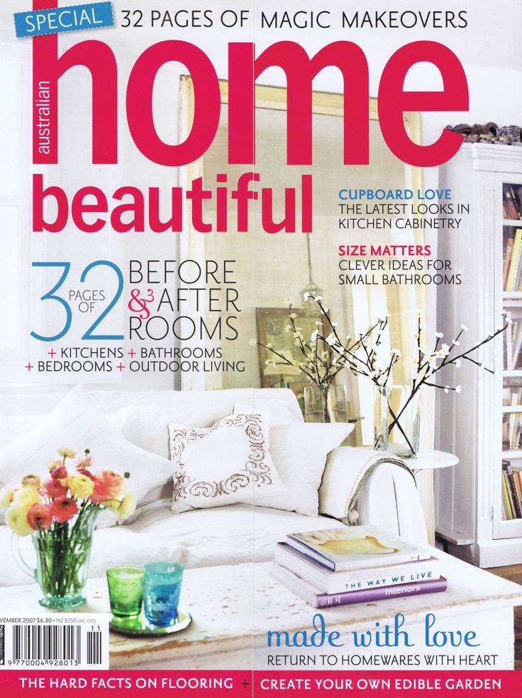 Australian Home Beautiful Cover Brooke Aitken Design