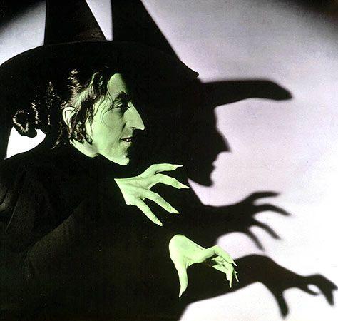 Wicked Witch of the West from The Wizard of Oz    If only you knew the back story why this makes me laugh. :)~