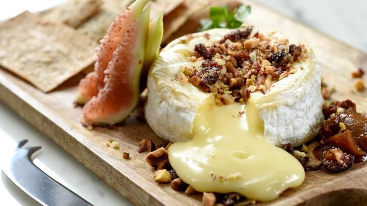 Old-school classic ... The baked camembert at Royal Hotel in  Sydney's Paddington. #recipe #cheese #camembert