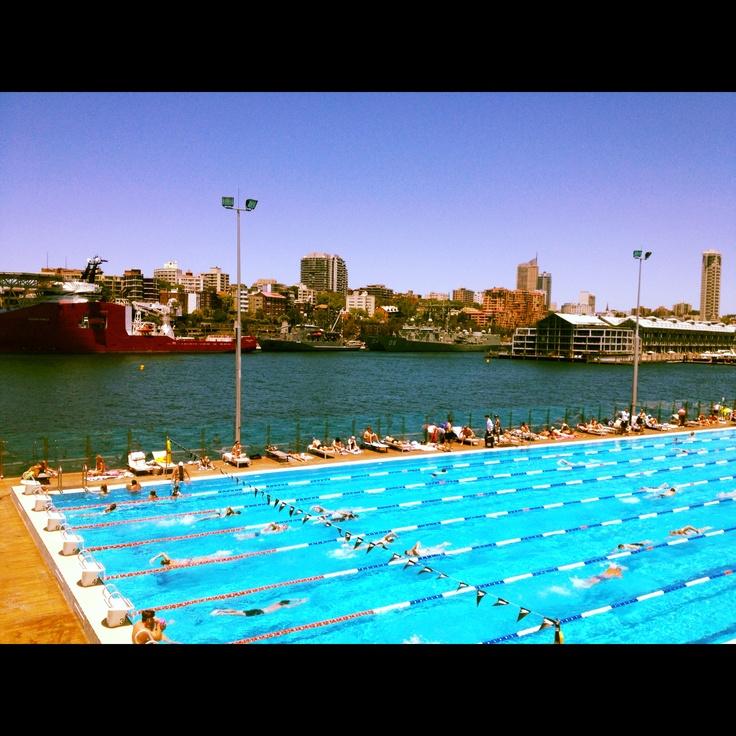 A Sydney summer lunch-break @ Andrew Boy Charlton Pool 04/01/2013