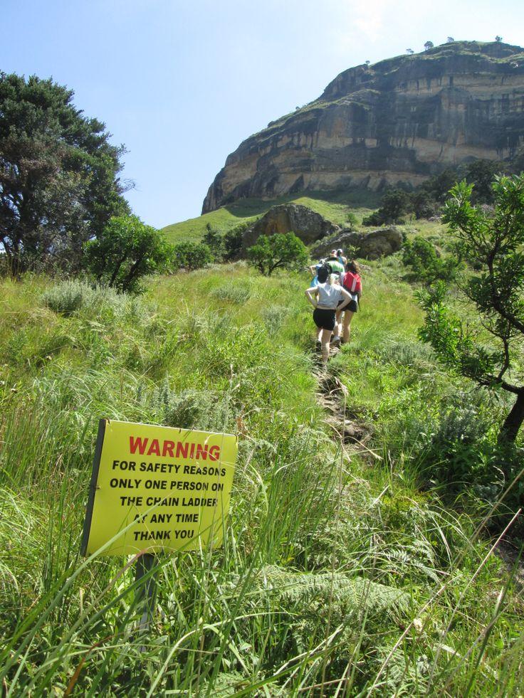 Witsieshoek Hiking Trail in the Drakensberg, South Africa