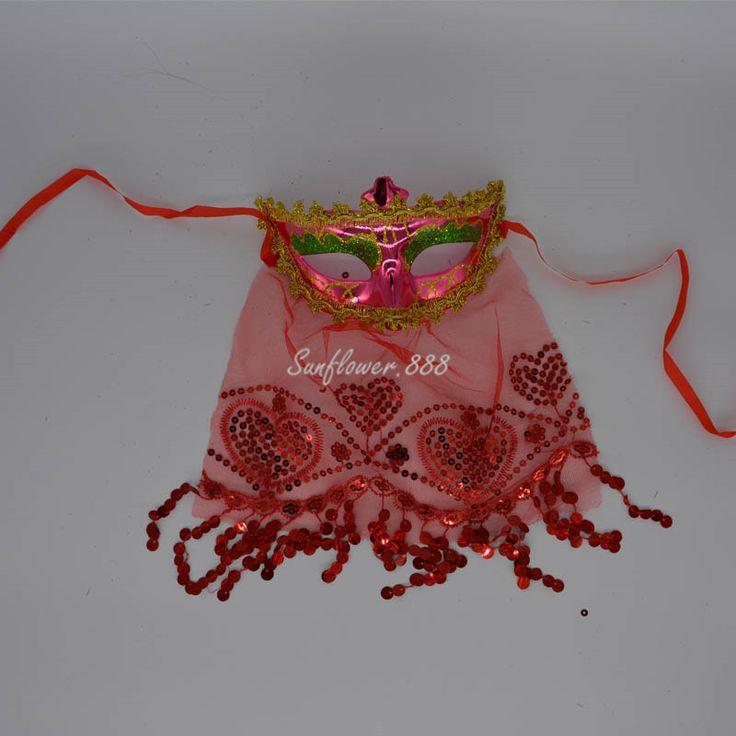 Дамы венецианский маскарад маска принцесса шарм марди гра ну вечеринку марля покрывало маски высокое качество