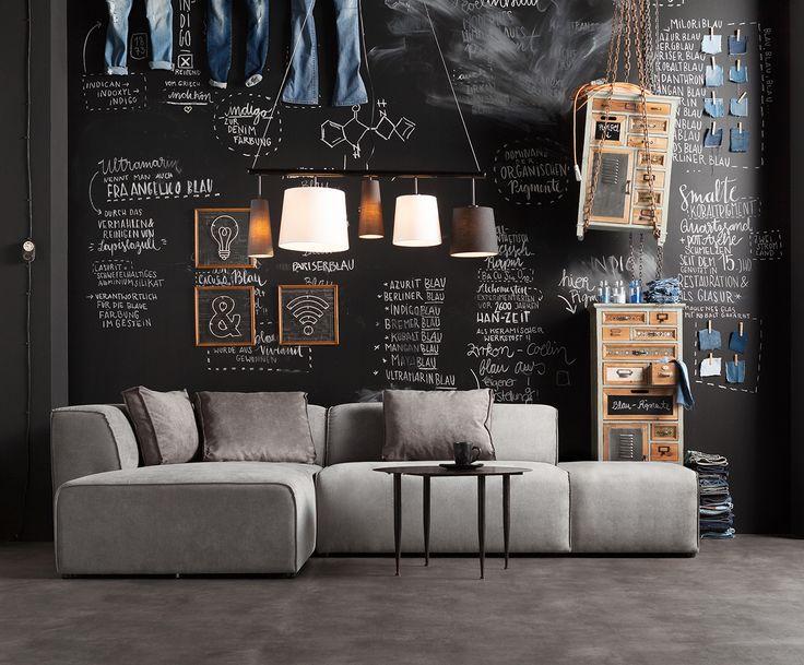 Mit Sofa-Set Infinity, 2-tlg. in Grau von KARE verwandeln Sie Ihr Wohnzimmer in eine Wohlfühloase. Entdecken Sie weitere hochwertige Möbel auf >> WestwingNow.