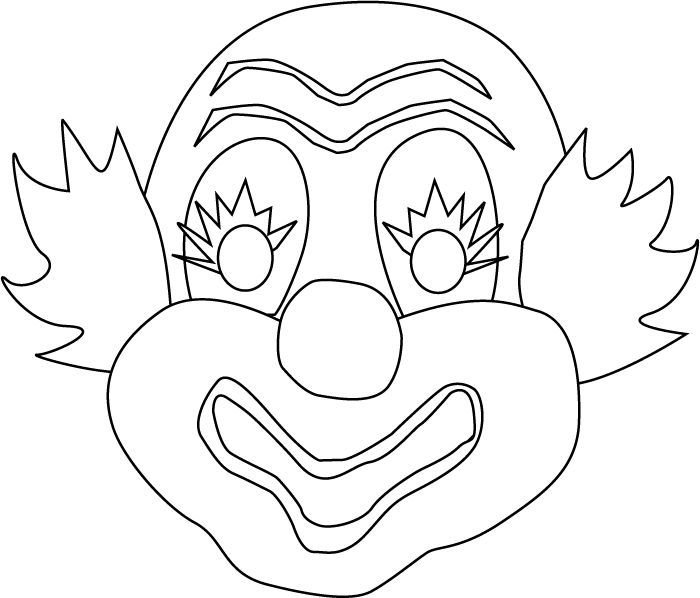 Related Image Coloring Pages Mask Drawing Drawing Sheet