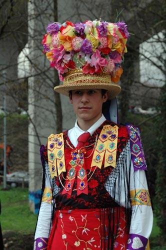 Galán, carnaval de Cobres. Pontevedra