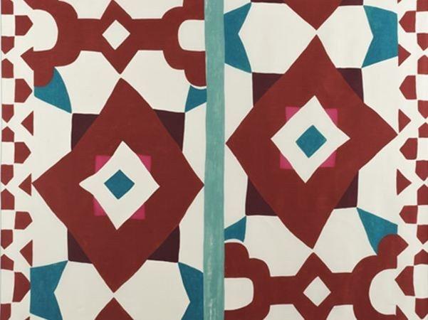 Tessuto in seta per tende SOLEIL QUI BRILLE by Dedar